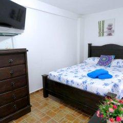 Отель Hostal Pajara Pinta Номер Делюкс с различными типами кроватей