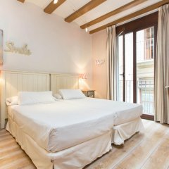 Апартаменты AinB Gothic-Jaume I Apartments Апартаменты с различными типами кроватей фото 5