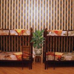 Хостел Кутузова 30 Кровать в общем номере с двухъярусной кроватью фото 24