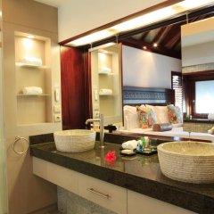 Отель Hilton Moorea Lagoon Resort and Spa 5* Бунгало с различными типами кроватей фото 4