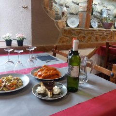 Отель Balneario Casa Pallotti питание