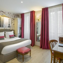 Отель Best Western Au Trocadero 3* Стандартный номер с разными типами кроватей фото 6