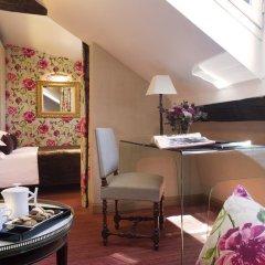 Отель Hôtel Saint Paul Rive Gauche 4* Улучшенный номер с различными типами кроватей фото 6