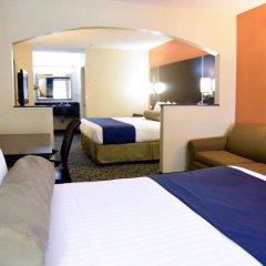 Отель Rodeway Inn Meridian 2* Стандартный номер с различными типами кроватей фото 6
