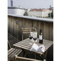 Отель Kokon Apartments Германия, Лейпциг - отзывы, цены и фото номеров - забронировать отель Kokon Apartments онлайн балкон