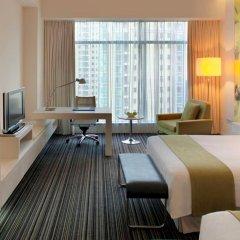 Grand Mercure Shanghai Century Park Hotel 4* Улучшенный номер с различными типами кроватей фото 5
