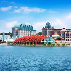 Resorts World Sentosa - Hard Rock Hotel Сингапур приотельная территория
