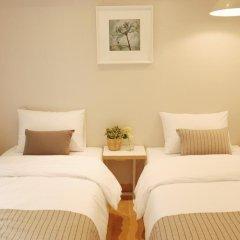 Отель The Mei Haus Hongdae 3* Стандартный номер с 2 отдельными кроватями фото 3
