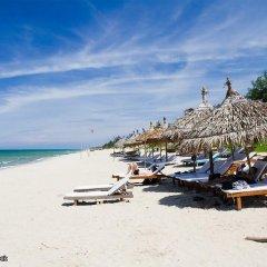 Отель An Bang Sunrise Beach Bungalow пляж фото 2