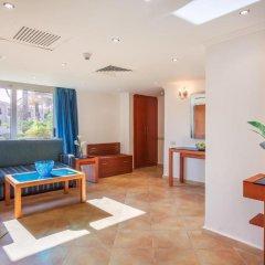 Отель Cleopatra Luxury Resort Makadi Bay 5* Стандартный семейный номер с различными типами кроватей фото 3