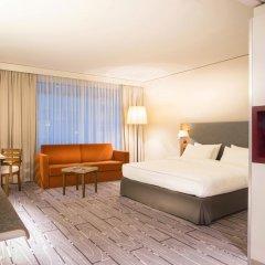 Radisson Blu Hotel Zurich Airport 4* Стандартный семейный номер с двуспальной кроватью фото 2