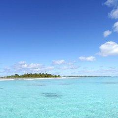 Отель Fafarua Ile Privée Private Island Французская Полинезия, Тикехау - отзывы, цены и фото номеров - забронировать отель Fafarua Ile Privée Private Island онлайн пляж фото 2