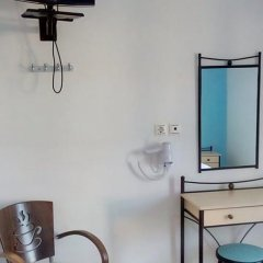 Galini Hotel Стандартный номер с различными типами кроватей фото 17