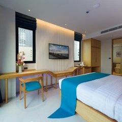 Отель Deep Blue Z10 Pattaya Стандартный номер с различными типами кроватей фото 27