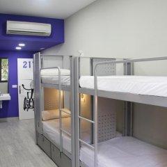 Отель Bcnsporthostels 2* Стандартный номер с различными типами кроватей фото 6