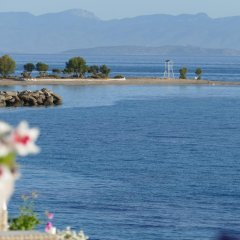 Kerkifalia Hotel пляж