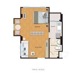 Отель Hill Myna Condotel 3* Люкс с 2 отдельными кроватями фото 12