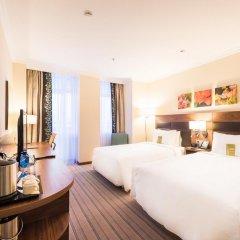 Гостиница Hilton Garden Inn Красноярск 4* Стандартный номер разные типы кроватей фото 4