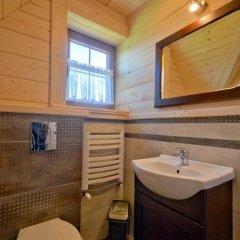 Отель Domki na Gubałówce Польша, Закопане - отзывы, цены и фото номеров - забронировать отель Domki na Gubałówce онлайн ванная фото 2
