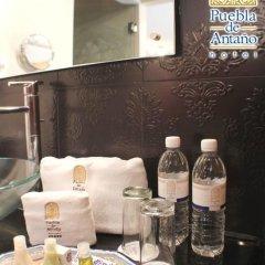 Puebla de Antaño Hotel 3* Люкс с различными типами кроватей фото 3