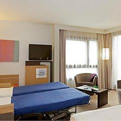 Отель Novotel Lyon Centre Part Dieu 4* Улучшенный номер с различными типами кроватей