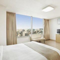 Отель Hyundai Residence Seoul 3* Стандартный номер с двуспальной кроватью