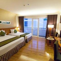 Saigon Hotel 3* Улучшенный номер с различными типами кроватей фото 5