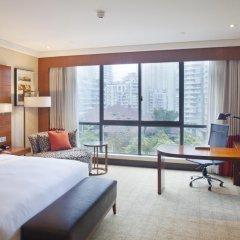 Отель Crowne Plaza Chongqing Riverside 4* Номер Делюкс с двуспальной кроватью