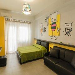 Отель Affittacamere Tiburstation 2 4* Стандартный номер с различными типами кроватей фото 8