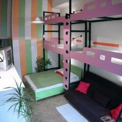 Hostel Budapest Center Стандартный номер с различными типами кроватей фото 26