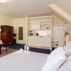 Отель Apartmenthaus Hohe Straße Дюссельдорф комната для гостей