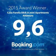 Апартаменты Casa Farella B&B in mini Apartments Altamura Апартаменты фото 23