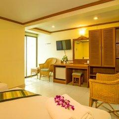 Krabi City Seaview Hotel 2* Стандартный номер с различными типами кроватей фото 2