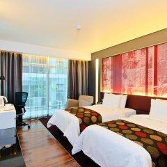Отель Park Plaza Bangkok Soi 18 4* Номер Делюкс с различными типами кроватей фото 2