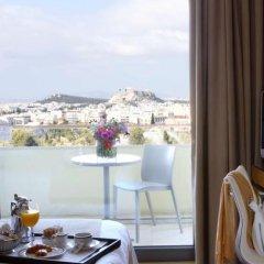 Отель Hilton Athens 5* Представительский номер разные типы кроватей фото 22