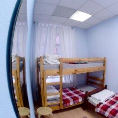 Fantomas Hostel Номер Эконом разные типы кроватей фото 5