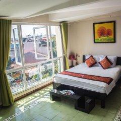 Отель Vietnam Backpacker Hostels - Downtown Стандартный номер с различными типами кроватей фото 2