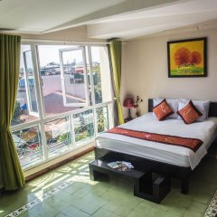 Отель Vietnam Backpacker Hostels Downtown Стандартный номер фото 2