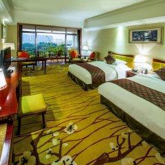 Guangzhou Phoenix City Hotel 4* Улучшенный номер с разными типами кроватей фото 4