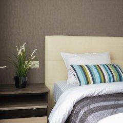 Гостиница Силуэт Стандартный номер 2 отдельные кровати фото 17