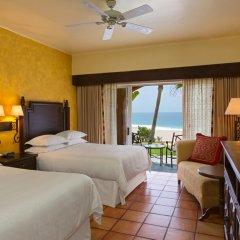 Отель Sheraton Grand Los Cabos Hacienda Del Mar 4* Люкс повышенной комфортности с различными типами кроватей фото 4