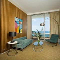Le Grand Hotel Cannes 5* Номер Делюкс фото 4