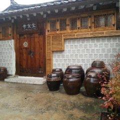 Отель Hyosunjae Hanok Guesthouse 2* Стандартный номер с двуспальной кроватью фото 5