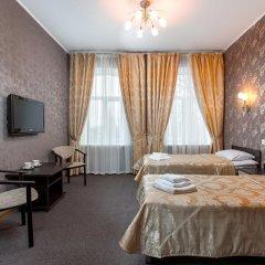 Гостиница Самара Люкс 3* Номер Бизнес двуспальная кровать фото 4