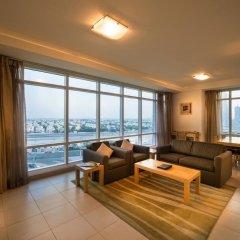 Oaks Liwa Heights Hotel Apartments 3* Улучшенные апартаменты с различными типами кроватей фото 4