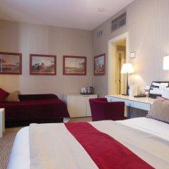Dei Borgognoni Hotel 4* Улучшенный номер с двуспальной кроватью