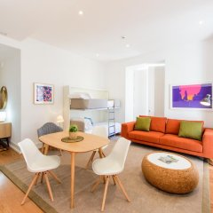 Отель Martinhal Lisbon Chiado Family Suites 5* Апартаменты с различными типами кроватей