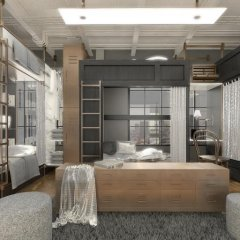 Отель The Printing House Poshtel 2* Кровать в общем номере с двухъярусной кроватью фото 3