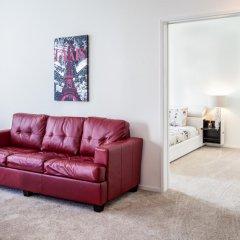 Апартаменты Heaven on Washington Furnished Apartments комната для гостей фото 4