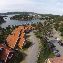 Отель Tregde Ferie балкон